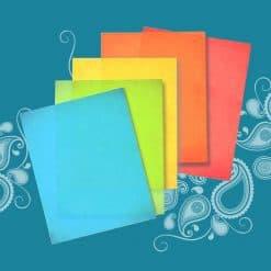 Color Wafer Paper