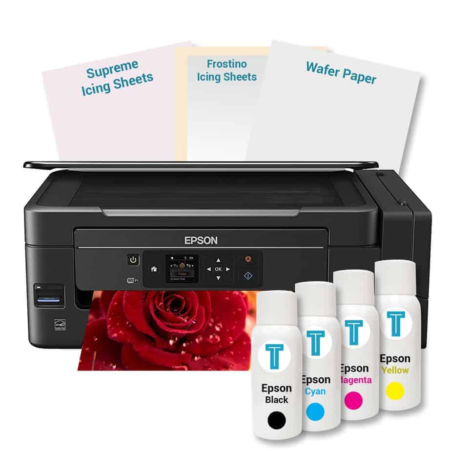 photograph relating to Edible Printable Paper referred to as Epson Specialist Edible Printer Package